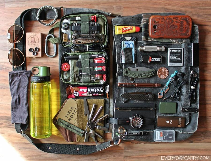 how to carry edc items