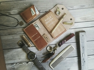 Brass and leather every day