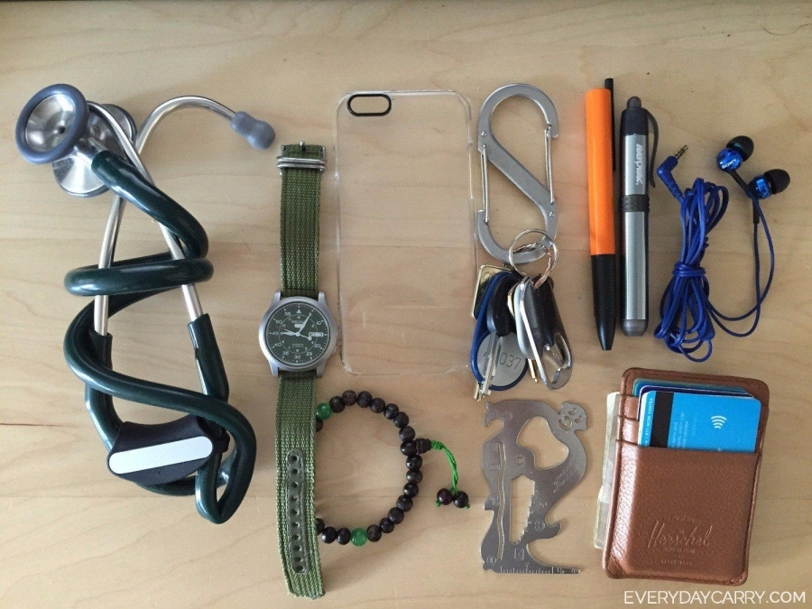 Everyday Carry - M/Chicago, IL/Medical Student - Med Student Daily Carry