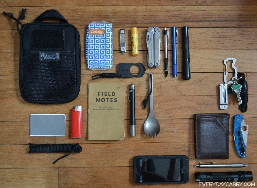 Everyday Carry Michigan Student Edc Organizer And Pant