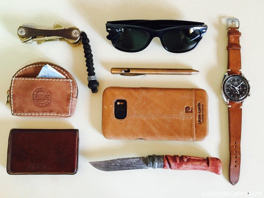 Everyday Carry 30 M Barcelona Engineer Brown Leather