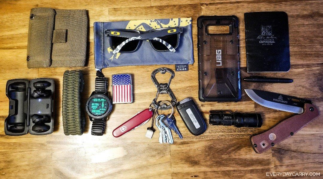 Everyday Carry 26 M New York Security Guard My Edc