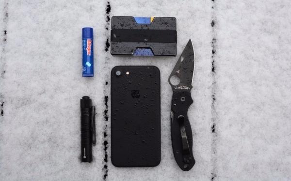 Black on snow life saver