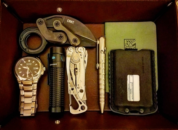 End of Day, EDC pocket dump