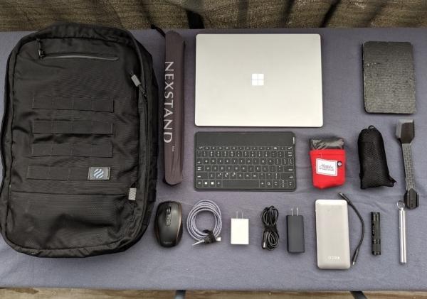 Bag EDC (in work setup)
