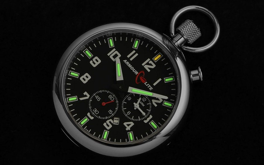 ArmourLite Tritium Pocket Watch