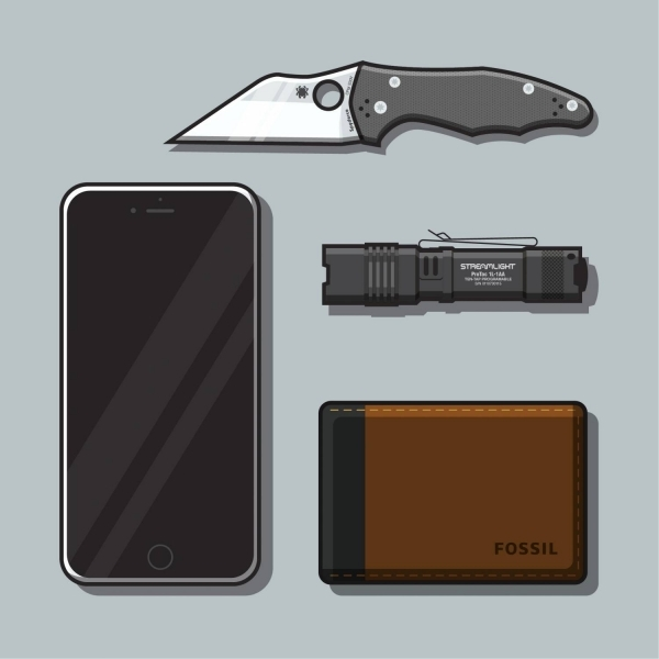 My Everyday Carry Illustrated