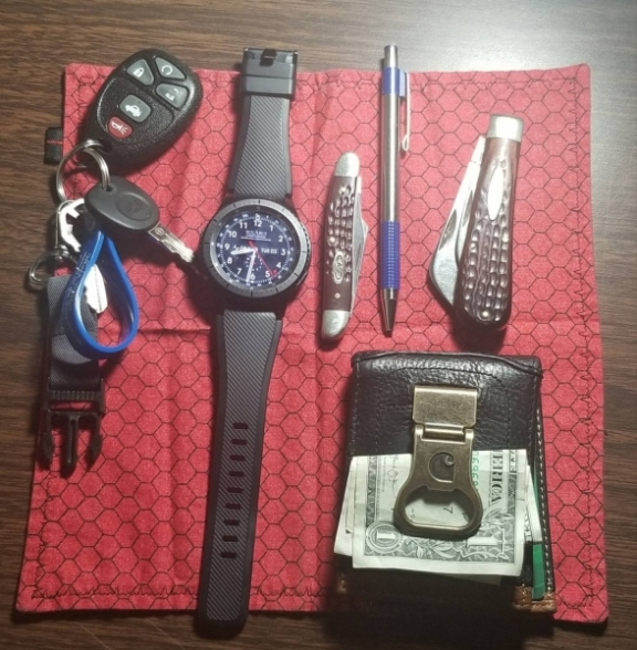 West Virginia Unarmed Security Guard's EDC
