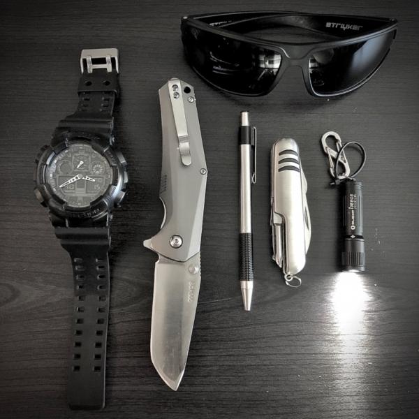 Black & Silver EDC