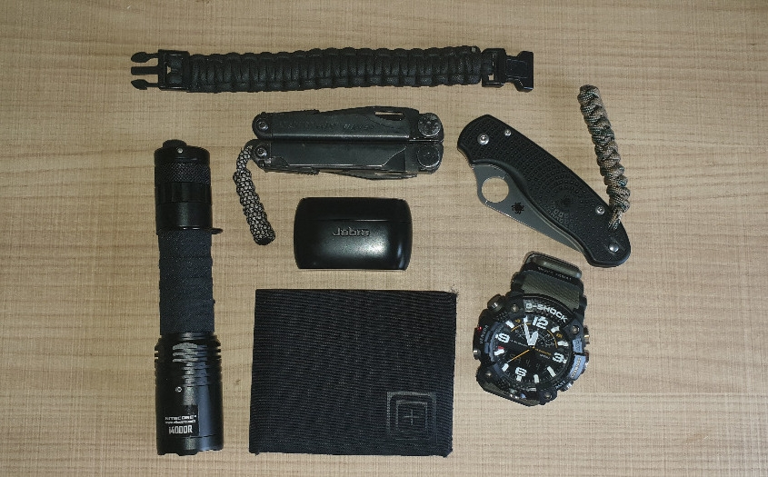 My EDC for SSDD (Same Shit Different Day).