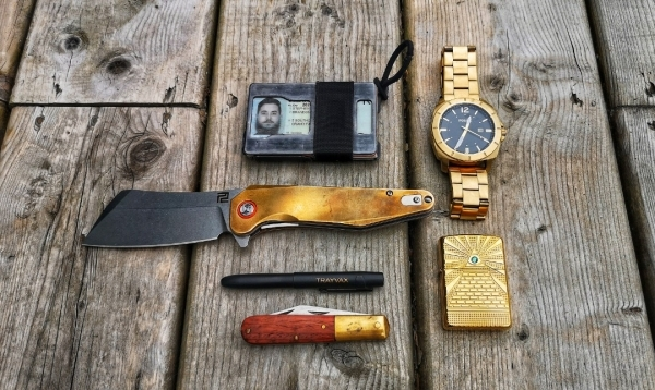 Brass bronze all metal carry