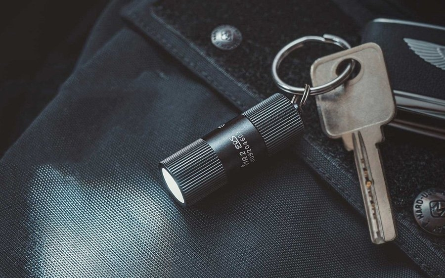 Details about  /Keychain Mini Flashlight UV Keyring with Money Detector for Daily Life