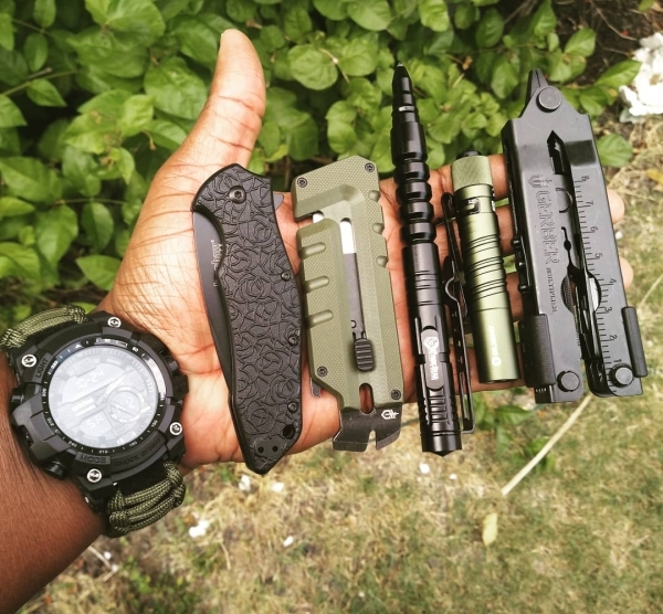 OD Green & Black Carry