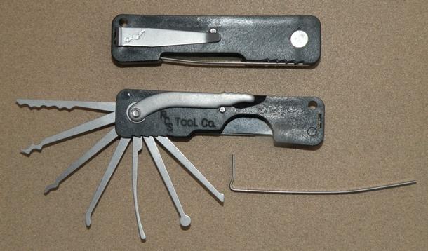Wallet Multi Tool >> RCS Tool Company Lock Pick Set | Everyday Carry is EDC