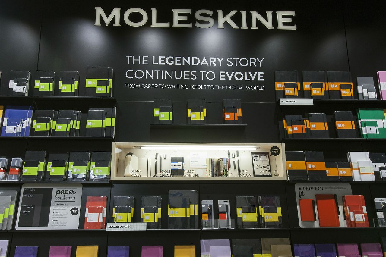 Shop Here: Moleskine, SoHo, NYC