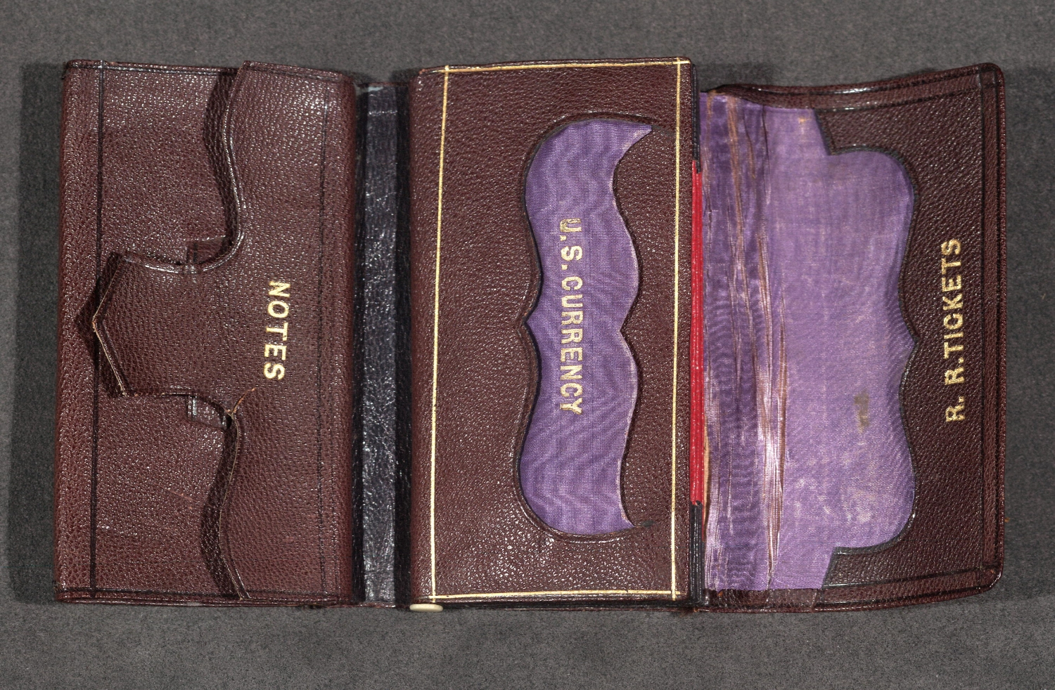 Abraham Lincoln's Leather Wallet