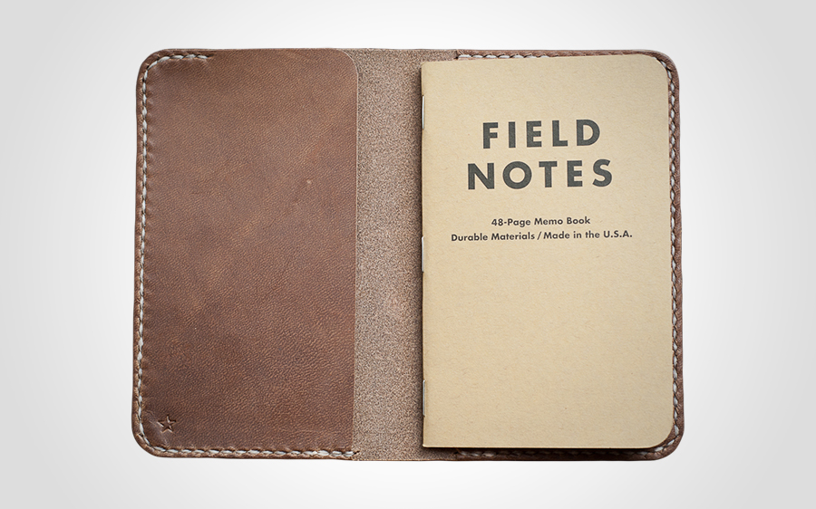 One Star Leather Goods Notebook Cover