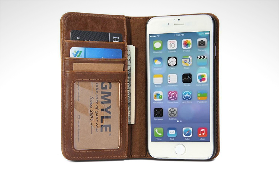 GMYLE iPhone 6 Plus (Vintage) Wallet Case Review