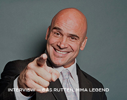 Interview: Bas Rutten, TV Host & MMA Legend