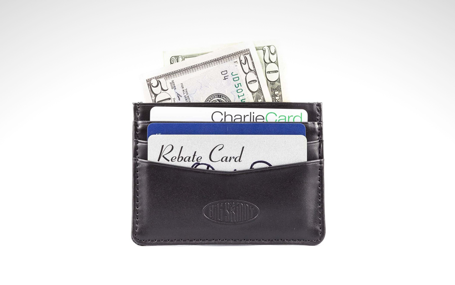 Big Skinny Leather Mini Skinny Wallet