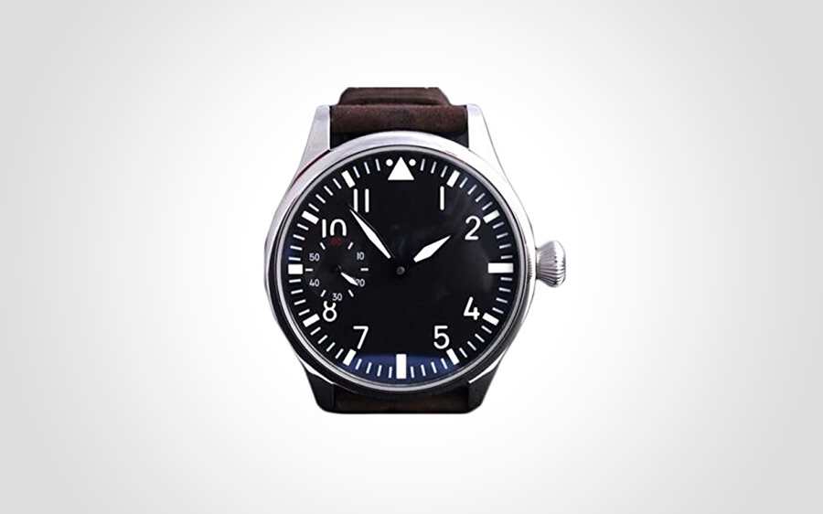 Parnis Flieger Hand Wound Pilot Watch