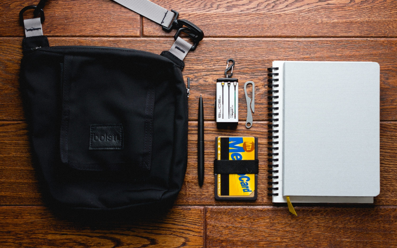 Win an Aluminum Wallet, Key Organizer, Writing Gear & More!