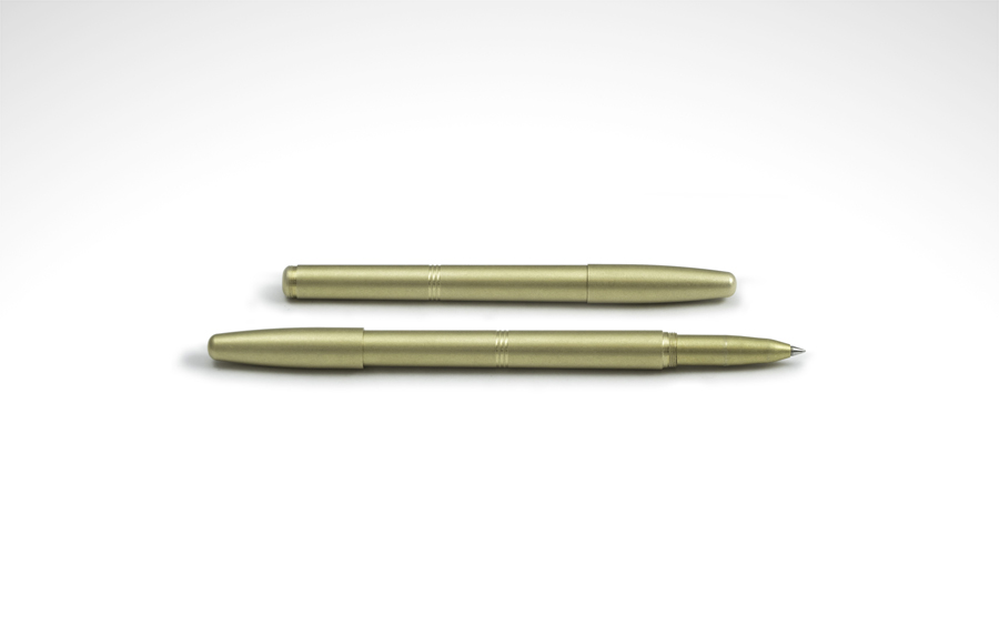 Machine Era Solid Brass Pen