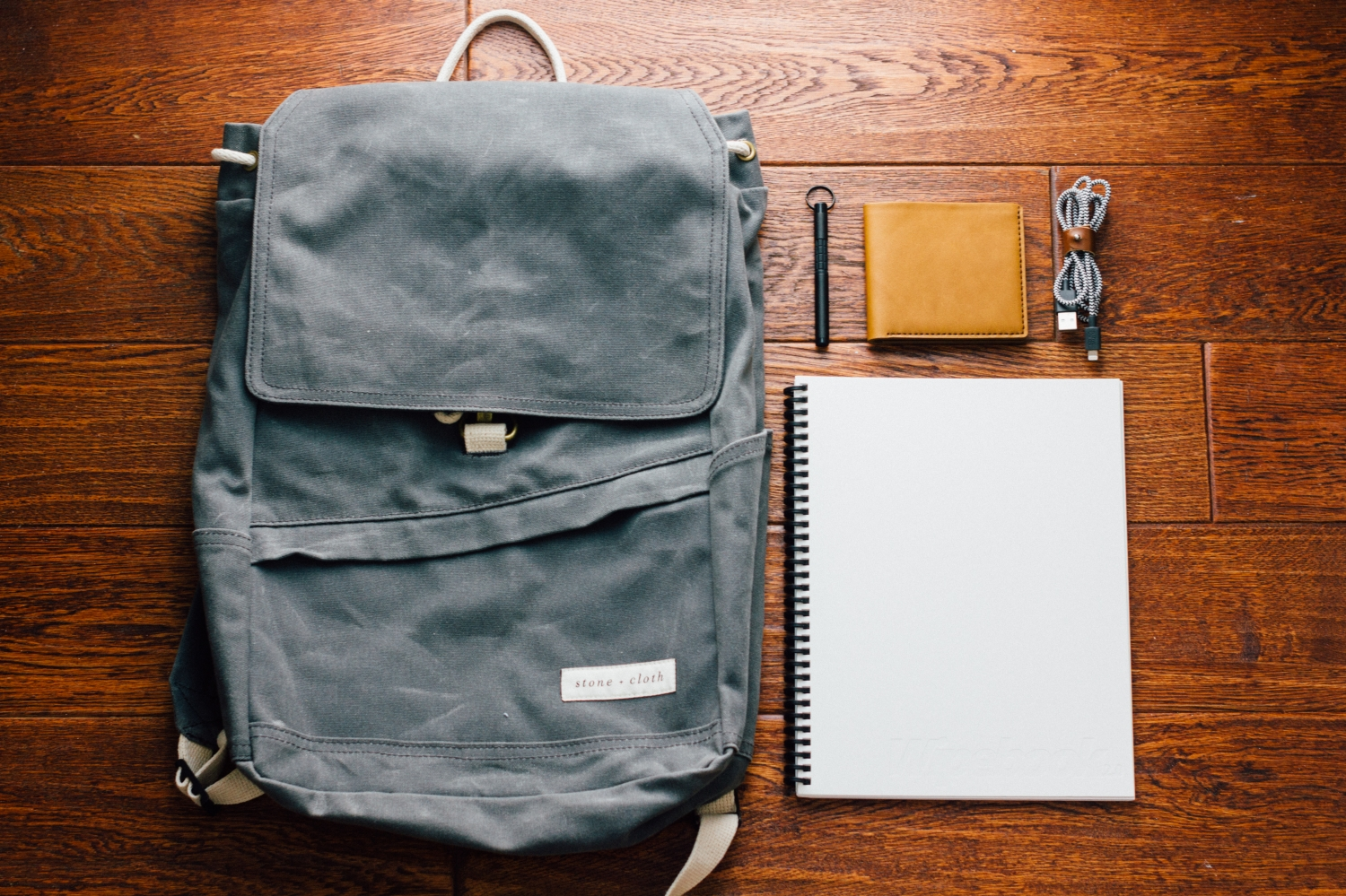 Win a Waxed Canvas Backpack, Horween Leather Wallet, & more!