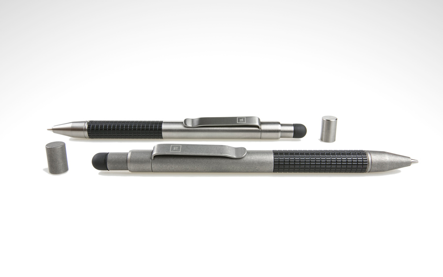 BigIDesign Titanium Mechanical Pencil + Stylus