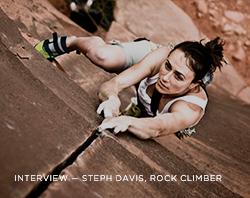 Interview: Steph Davis, Rock Climber