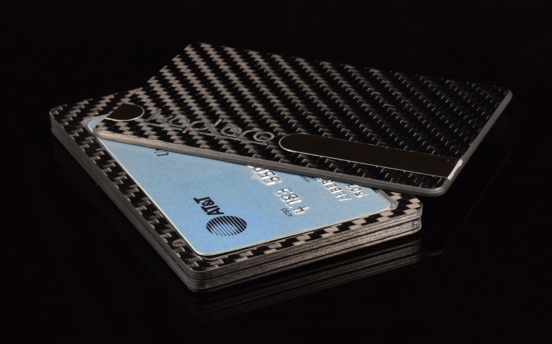 Keplero Carbon Fiber Magnetic Wallet Everyday Carry