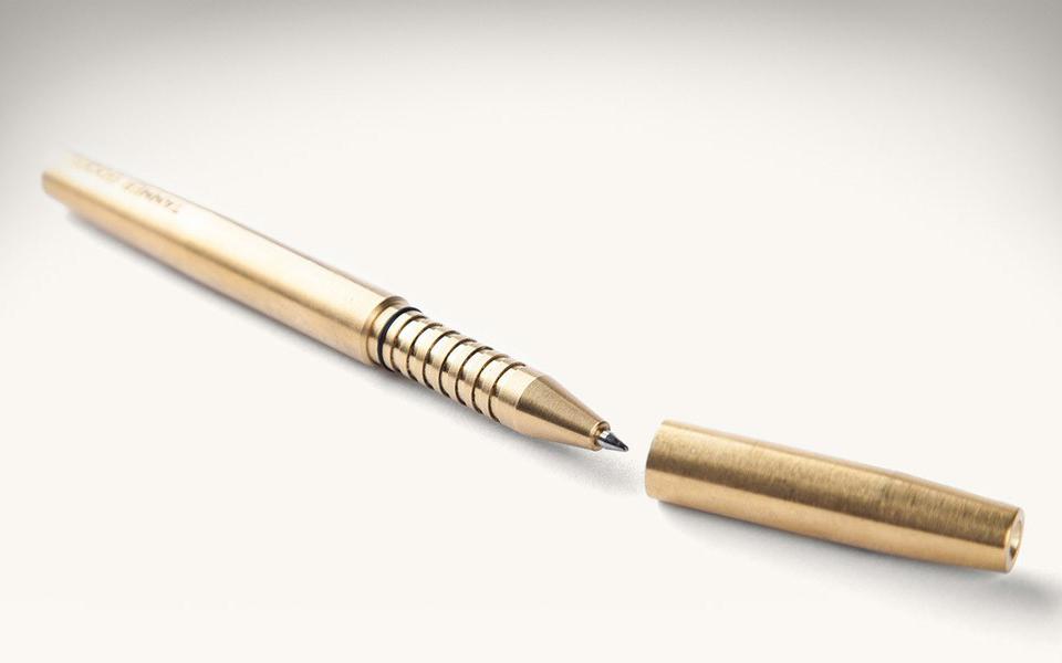 Memori Solid Brass Pen