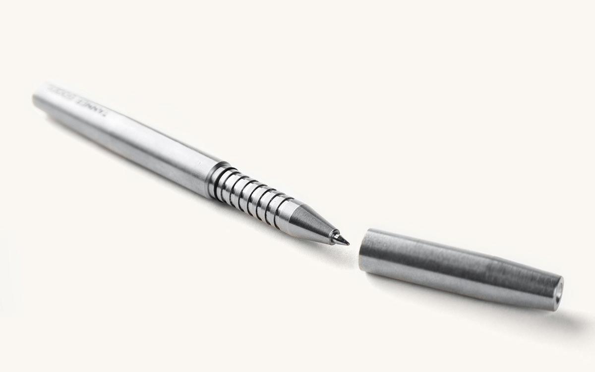 Tanner Goods Stainless Steel Memori Pen