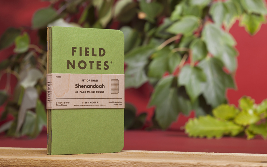 "Field Notes Colors ""Shenandoah"""
