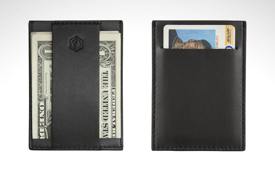 Capsule Blackout Minimalist Wallet