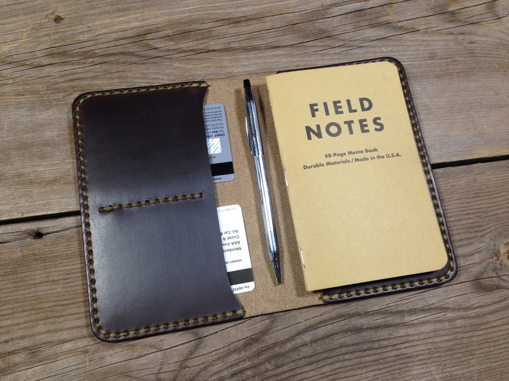 Koch leather co journal cover everyday carry is edc for Koch 6 backjournal