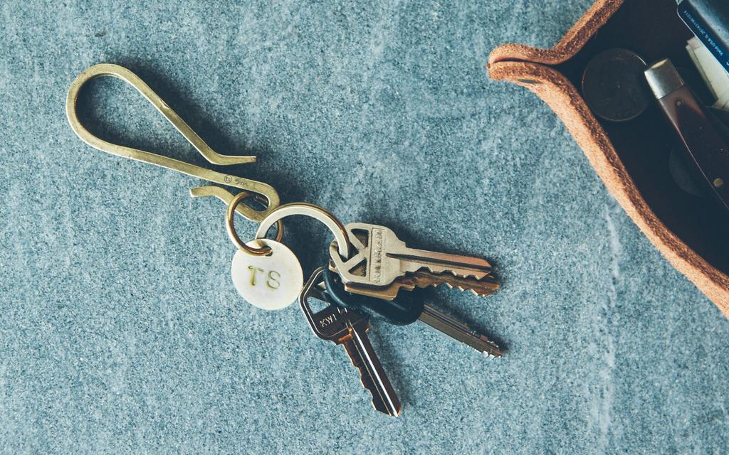 Taylor Stitch Brass Keyhook