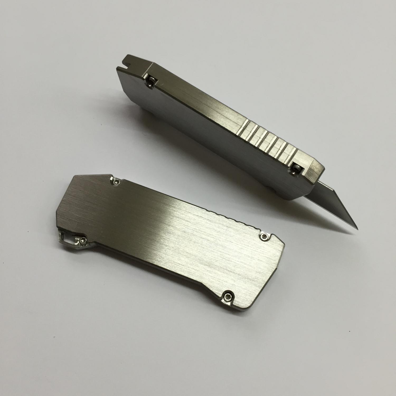 Veleno Designs Titanium Fes2 Utility Blade Everyday