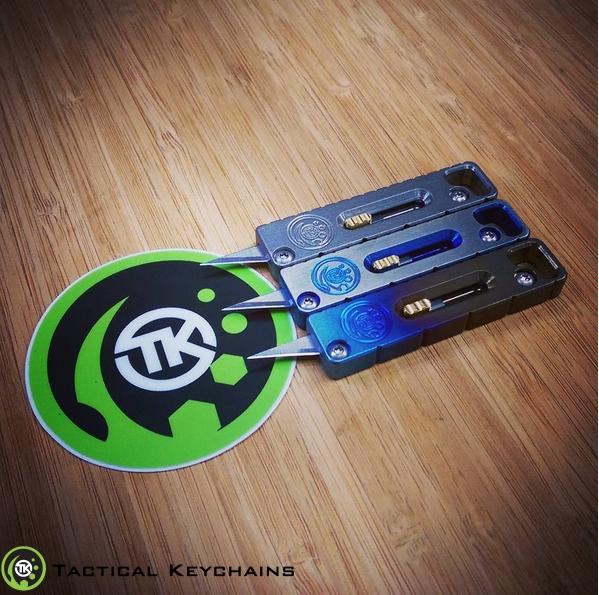 Tukk Titanium Utility Knife Everyday Carry Is Edc