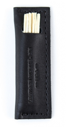 Leather works mn toothpick holder everyday carry is edc - Personal toothpick holder ...