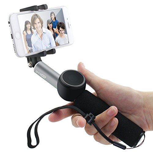 sumsonic rock 22 self portrait monopod extendable selfie stick with detachable bluetooth remote. Black Bedroom Furniture Sets. Home Design Ideas