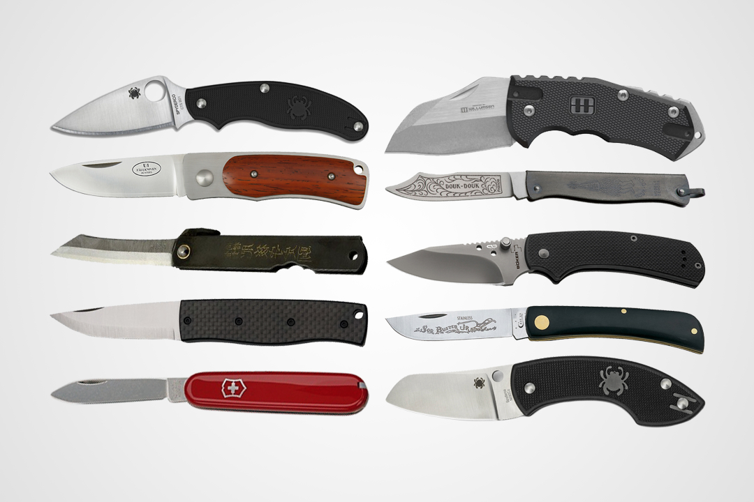 10 Non Locking Edc Knives To Carry Almost Anywhere