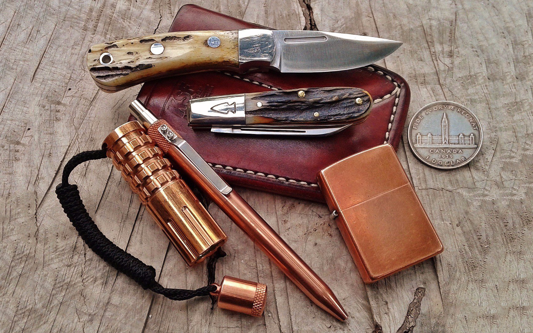 10 Copper Essentials to Put Patina in Your Everyday Carry