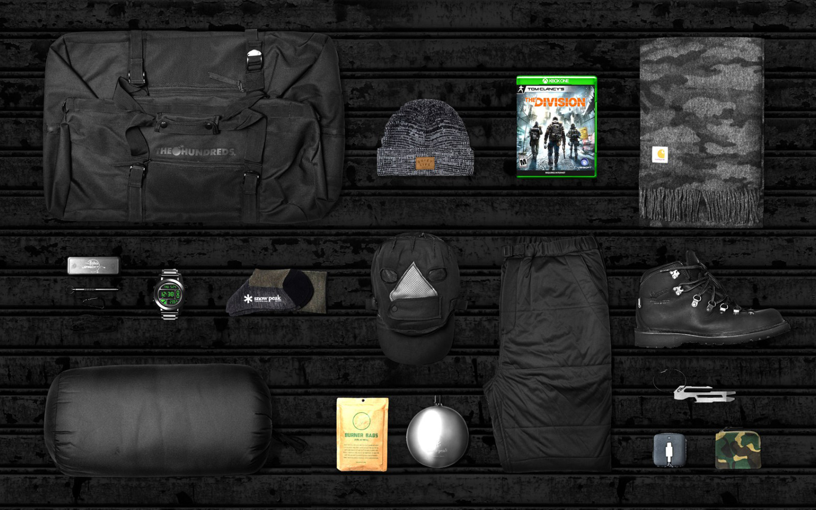 "Tom Clancy's: The Division ""Survival Bag"" Giveaway"
