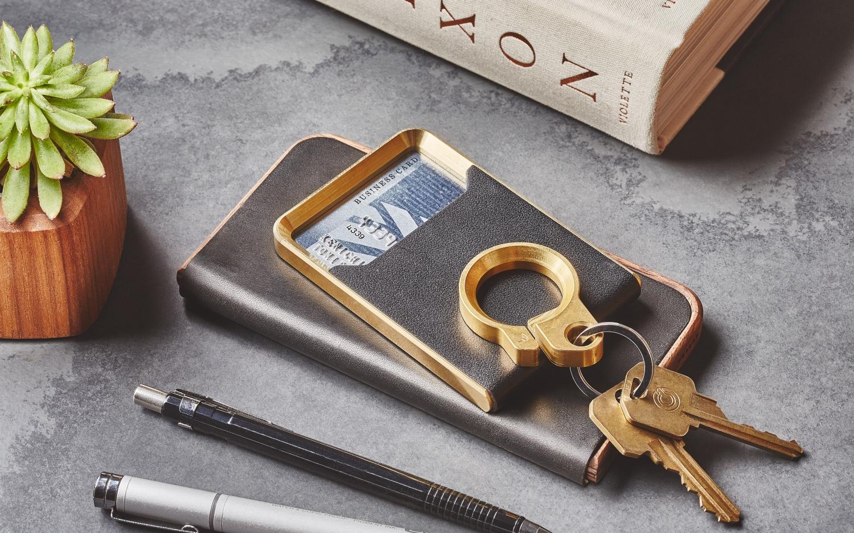 Grovemade Brass Minimalist Wallet