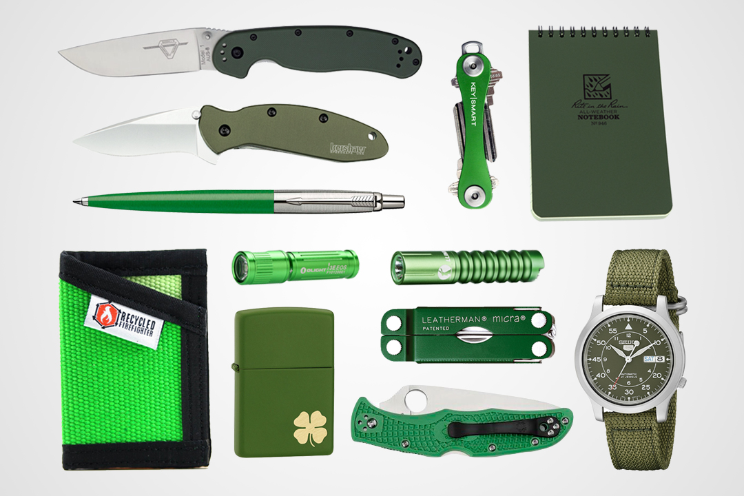 12 Green Essentials to Carry This St. Patrick's Day