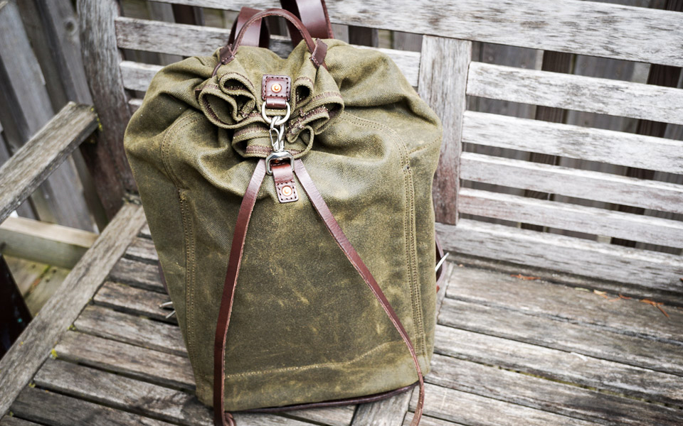 Saddleback Drawstring Canvas Pack