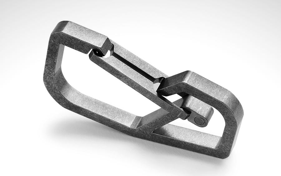 Handgrey H4 Titanium Carabiner