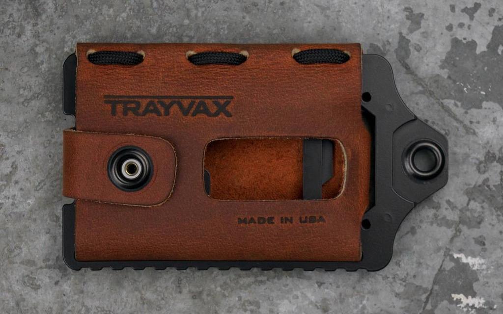 Trayvax Black Element Wallet