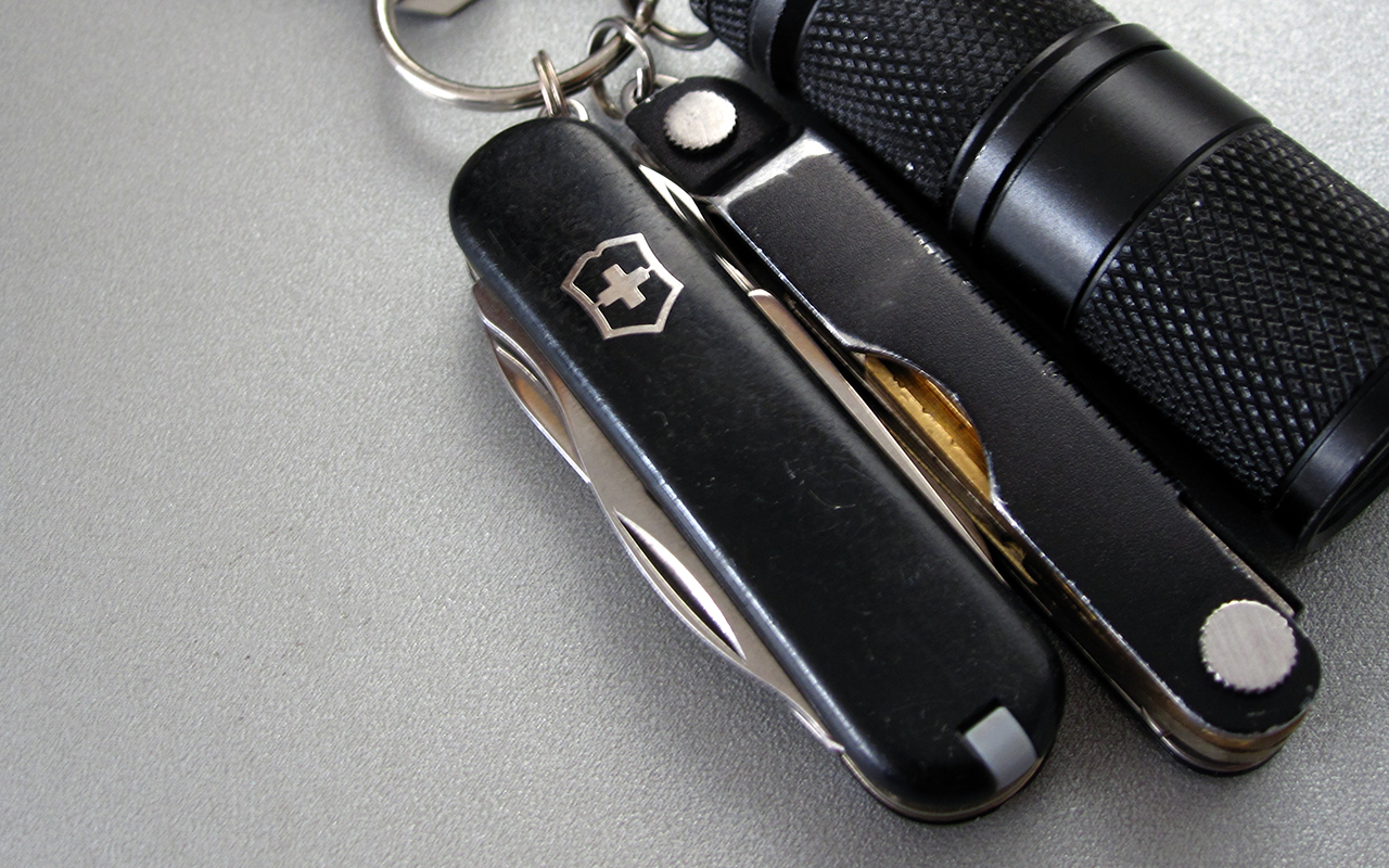 Have You Carried the Victorinox Manager?